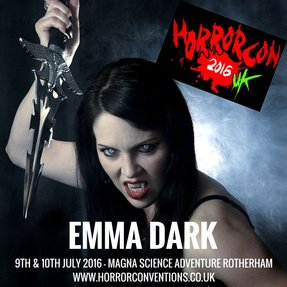 Emma Dark at HorrorCon UK