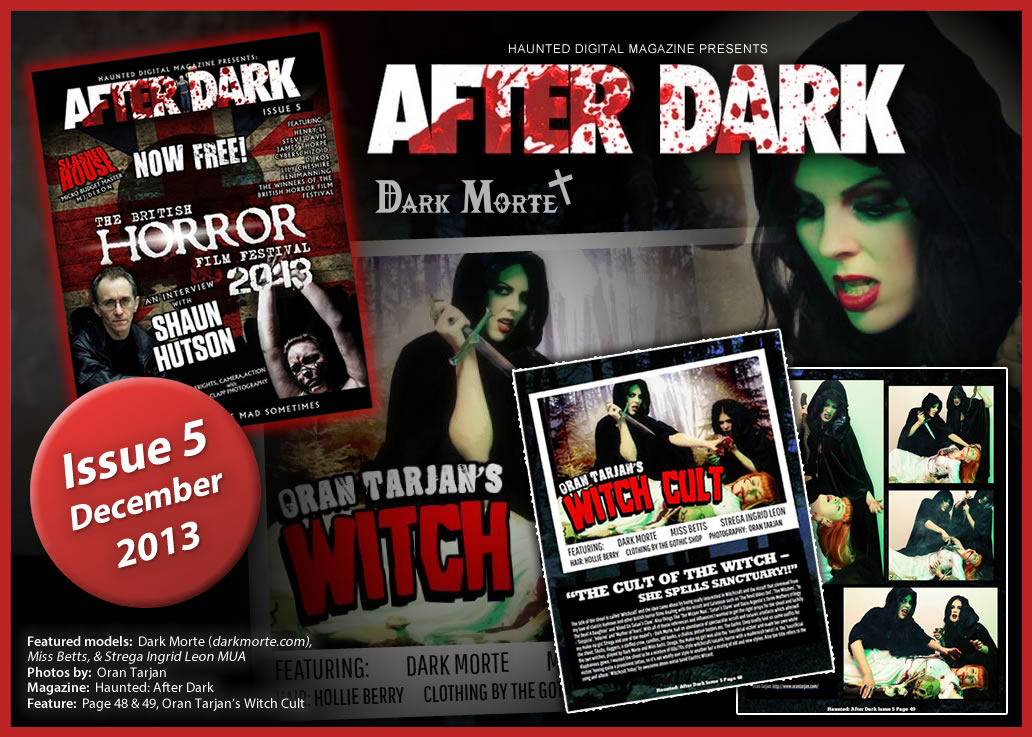 Haunted: After Dark magazine