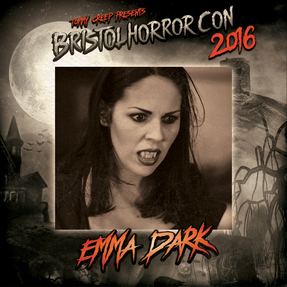Emma Dark at Bristol Horror Con