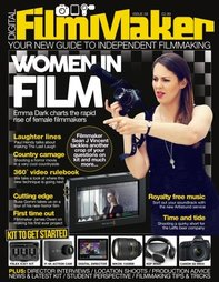 Emma Dark on the cover of DFM Magazine