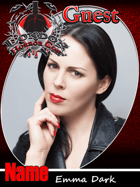 Emma Dark at London Horror Con