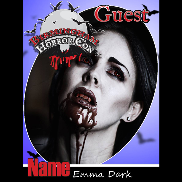 Emma Dark at Birmingham Horror Con